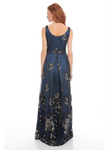 Pierre Cardin Uzun Abiye Elbise Saks